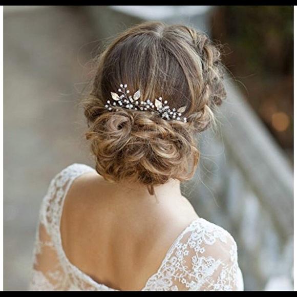 Accessories bridal hair comb poshmark bridal hair comb junglespirit Images